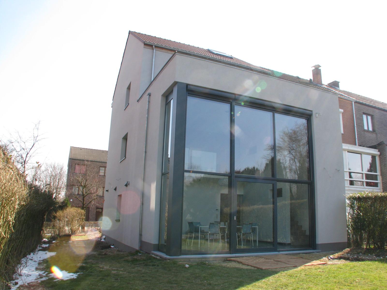 Architecte Maison Passive Brabant Wallon Maison Moderne